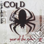 YEAR OF THE SPIDER cd musicale di COLD
