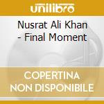 The final moment cd musicale