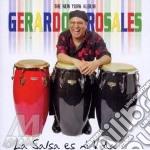 La salsa es mi vida cd musicale di Rosales Geraldo