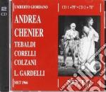 Andrea chenier-n.york 66-corelli,tebaldi cd musicale di U Giordano