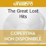 THE GREAT LOST HITS                       cd musicale di George Jones
