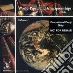 Volume 1 cd musicale di World pipe band cham