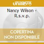 R.S.V.P. cd musicale di Nancy Wilson
