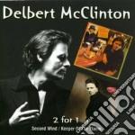 SECOND WIND/KEEPER FLAME + 1 BONUS TRACK cd musicale di DELBERT MCCLINTON