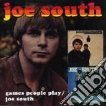GAMES PEOPLE PLAY/SAME + 3 BONUS TRACKS cd musicale di JOE SOUTH