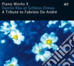 Danilo Rea - A Tribute To Fabrizio De Andre' cd musicale di Danilo Rea