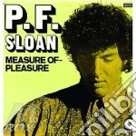 MEASURE OF PLEASURE cd musicale di SLOAN P.F.