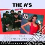 THE A'S/A WOMAN GOT POWER                 cd musicale di THE A'S