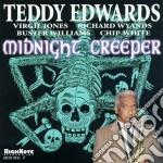 Teddy Edwards - Midnight Creeper cd musicale di Edwards Teddy