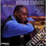 Norman Simmons - The Art Of cd musicale di Simmons Norman