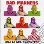 VIVA LA SKA REVOLUTION cd musicale di BAD MANNERS