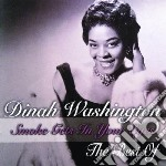 Smoke gets your eyes (the best of d.w.) cd musicale di Dinah Washington