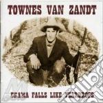 Drama falls like teardrops cd musicale di Van zandt townes