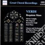 Verdi Giuseppe - Requiem cd musicale di Giuseppe Verdi