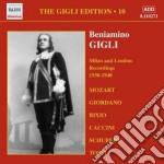 Gigli edition vol.10: berlino, milano e cd musicale di Beniamino Gigli