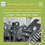 Welte-mignon Piano Rolls - Vol.2: 1905-1015 cd musicale di Welte-mignon piano r
