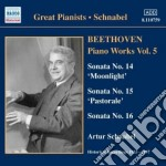 Opere per pianoforte (integrale), vol.5 cd musicale di Beethoven ludwig van