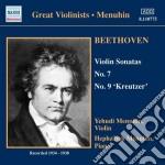 Beethoven Ludwig Van - Sonata Per Violino N.7 Op.30, N.9 Op.47, Rondo Woo 41 cd musicale di Beethoven ludwig van