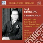 Jussi Bjorling Collection Vol.6 cd musicale di Jussi BjÖrling