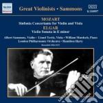 Mozart Wolfgang Amadeus - Sinfonia Concertante Per Violino E Viola K 364 cd musicale di Wolfgang Amadeus Mozart