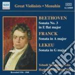 Beethoven Ludwig Van - Sonata Per Violino N.3 Op.12 cd musicale di Beethoven ludwig van