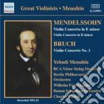 Mendelssohn Felix - Concerto Per Violino Op.64, Concerto Per Violino In E Minore cd musicale di Felix Mendelssohn