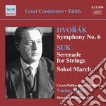 Dvorak Antonin - Sinfonia N.6 cd musicale di Antonin Dvorak