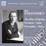 Stravinsky Igor - Sagra Della Primavera, Petrushka, L'uccello Di Fuoco cd musicale di Igor Stravinsky