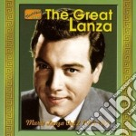 Mario Lanza - The Great Lanza: Original Recordings, Vol.2 1949-1951 cd musicale di Mario Lanza