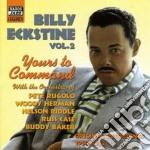 Billy Eckstine - Original Recordings 1950-1952: Yours To Command cd musicale di Billy Eckstine