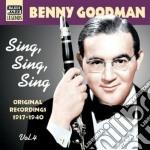 Sing, sing, sing - original recordings v cd musicale di Benny Goodman