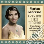 Ev'ry time i feel the spirit (1930-1947) cd musicale di Marian Anderson