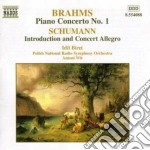 Concerto x pf n.1 op.15 cd musicale di Johannes Brahms