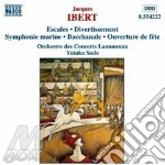 Ibert Jacques - Escales, Divertissement, Symphonie Marine cd musicale di IBERT