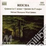 Reicha Antonin - Quintetto X Fiati N.6 Op.88, N.6 Op.81  - Michael Thompson Wind Quintet cd musicale di REICHA