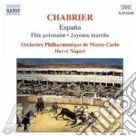Emmanuel Chabrier - Opere X Orchestra cd musicale di Emmanuel Chabrier