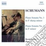 Sonata x pf n.1 op.11, n.3 op.14 (concer cd musicale di Robert Schumann