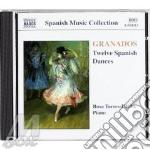 12 spanish dances cd musicale di Enrique Granados