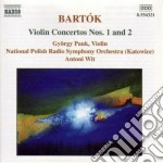 Bartok Bela - Concerti Per Violino cd musicale di Bela Bartok