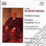 Schoenberg Arnold - Notte Trasfigurata Op.4, Sinfonia Da Camera N.2, Accompagnamento A Una Scena Cin cd musicale di Arnold Schoenberg