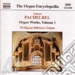 Pachelbel Johann - Opere Per Organo Vol.1: Toccate, Ricercari, Fughe, 3 Corali Natalizi, ... cd musicale di PACHELBEL
