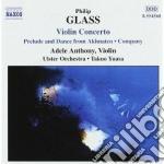 Concerto x vl, company, akhnaten (prelud cd musicale di Philip Glass
