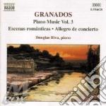 Piano music vol.3 cd musicale di Enrique Granados