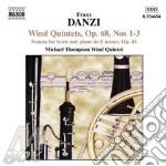 Danzi Franz - Quintetto X Fiati N.1, N.2, N.3 Op.68, Sonata X Corno cd musicale di Franz Danzi