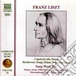 Opere x pf (integrale) vol.16: capriccio cd musicale di Franz Liszt