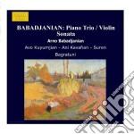 Arno Babadjanian - Piano Trio / Violin Sonata cd musicale di Arno Babadjanian