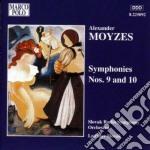 Sinfonia n.9 op.69, n.10 op.77 cd musicale di Alexander Moyzes