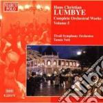 Opere per orchestra (integrale) vol.5 cd musicale di Lumbye hans christia