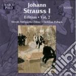 Strauss Johann I - Edition, Vol.2 cd musicale di Strauss johann i