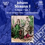 Strauss Johann I - Edition, Vol.3 cd musicale di Strauss johann i